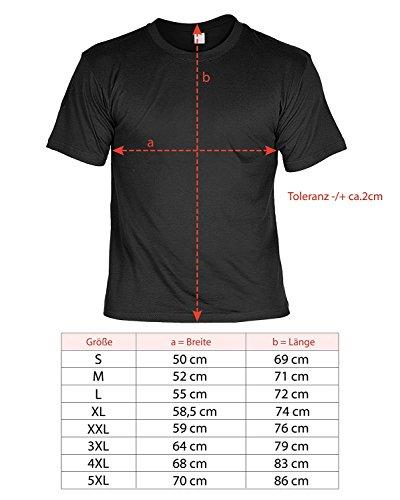 Vater-Tag Herren-Oberteil Geschenke Fun-T-Shirt Print-Motiv: Bester Papa weil