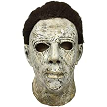 Mesky Michael Myers Máscara Disfraz Horror para Halloween Navidad Mask Casco con Peluca