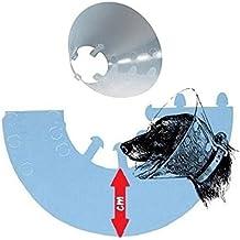 Buster Clic - Collar de protección tipo isabelino - Accesorio de plástico con función protectora post-operaciones, 25 cm