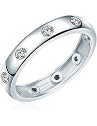 Rafaela Donata - Bague - Argent sterling 925 oxyde de zirconium - Bijoux pour femmes - En plusieurs tailles, bague oxyde de zirconium, bijoux en argent - 60800053