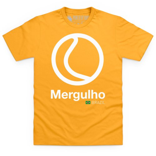 General Tee Classic Curves - Mergulhd T-Shirt, Herren Gelb