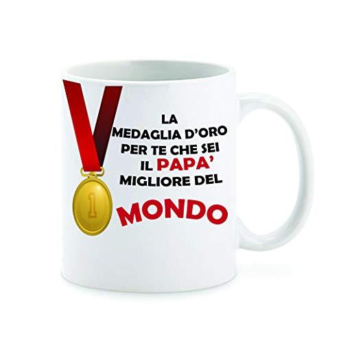 love print Tazza Festa del papà Sei Il papà Migliore del Mondo