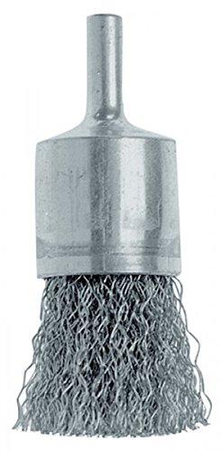 Osborn 2509163 Brosse Pinceau en fil d'acier ondulé, 25 x 0,3 x 6 mm