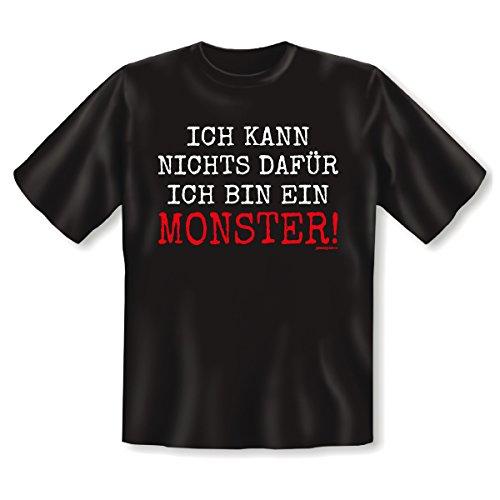 Goodman Design, Farbe: schwarz Halloween : ICH KANN NICHTS DAFÜR ICH BIN EIN MONSTER Schwarz