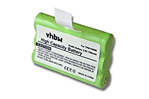 Batterie NI-MH 700mAh 3.6V pour TOPCOM Babytalker 1010, Babytalker 1020, Babytalker 1030, Twintalker 3700. Remplace TPB103MB