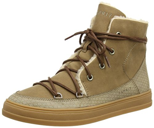 ESPRITSidney Bootie - Sneaker donna , Beige (Beige (241 taupe 2)), 37