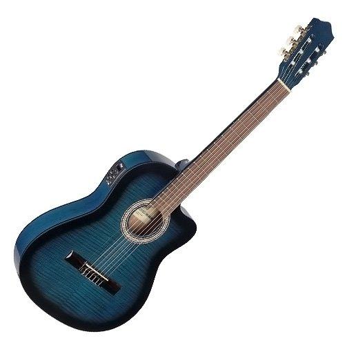 Stagg - Guitarra clásica con ecualizador