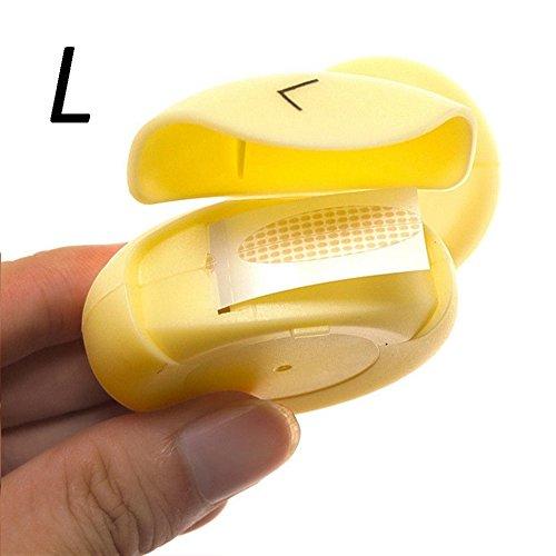 HERME 150Paar Doppel Augenlid Aufkleber selbstklebend unsichtbar Teint Augenlid Tape - Teint Lotion