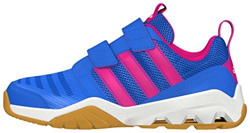 adidas Gymplus 3 Cf K, Chaussures de Running Entrainement Garçon Bleu - Azul (Azuray / Rosimp / Ftwbla)