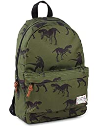Preisvergleich für Skooter Backpack Animal Kingdom Dino Green Kinder-Rucksack, 39 cm, Grün (Green)