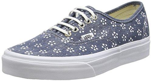 Vans Authentic, Unisex-Erwachsene Sneakers, Blau (webbing/batik/navy), 42 EU