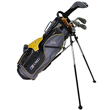 US kids Golf UL 63 Set Bolsa de Palos, Unisex niños, Amarillo, 12 a 13 años