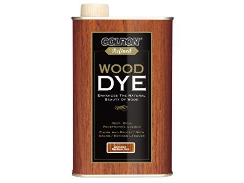 ronseal-cwdgmo250-250ml-colron-wood-dye-georgian-medium-oak