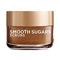 L'Oreal Paris Smooth Sugar Glow Scrub with Grapeseed Oil for Radiant Glowing Skin, 50 ml