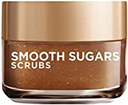 L'Oreal Paris Smooth Sugar Scrubs with Grapeseed Oil for radiant glowing skin,