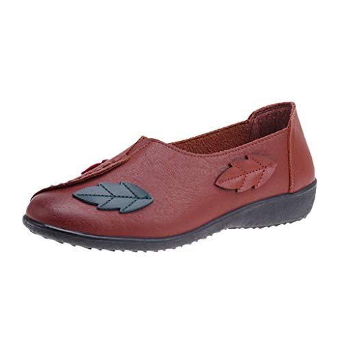 Ears Frauen Sommer Schuhe rutschfeste Flache Schuhe Weiche Schuhe National Wind Schuhe Lässige Römische Schuhe Casual Böhmische Schuhe Freizeit Strand Sandalen Stiefeletten Boots Sandalen