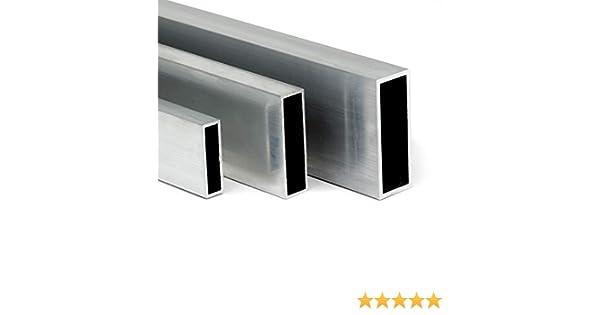 L: 300mm 30cm auf Zuschnitt Aluminium Vierkantrohr AW-6060-30x30x3mm