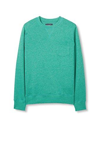 ESPRIT Herren Sweatshirt 017ee2j002 Grün (Green 310)