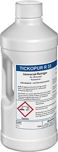 Ultraschallreiniger 2 LITER TICKOPUR R 33 - Reinigungs-Konzentrat