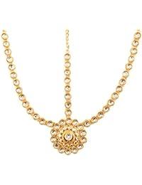 NEW! Touchstone Indian Bollywood Exclusive Mughal Era Inspired Stylish Traditional Kundan Polki Look Designer...