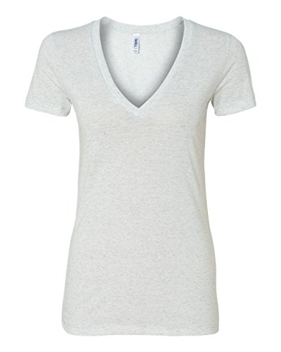 Bella+Canvas: Women`s Triblend Deep V-Neck T-Shirt 8435
