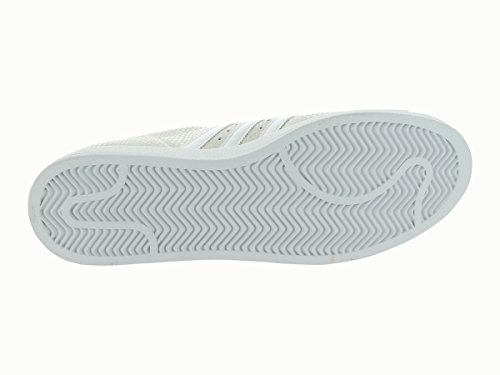 Adidas chaussures de Basket Adidas Superstar 1pour homme - RUN WHITE/RUN WHITE