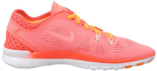 Nike - Free 5.0 Tr Fit 5 Breathe, Scarpe fitness Donna Rosso (Rot (Lv glw/white-brght crmsn-brght 600))