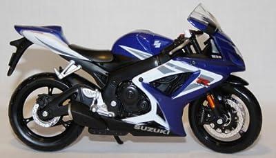 Motorrad Modell Maisto 1:12 Suzuki GSX-R 750 von Maisto