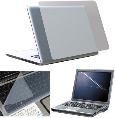 "Storinâ""¢ Laptop Screen Guard 15.6 inch- (Screen Guard, Silicone Keyboard Protector, Back-Panel Transparent Skin)"