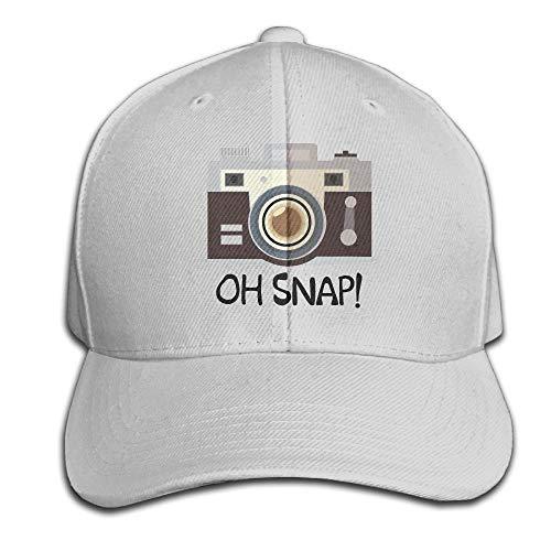 Retro-oh Snap (fdgjydjsh Oh Snap Camera Hats Cap Baseball Adjustable Unisex)