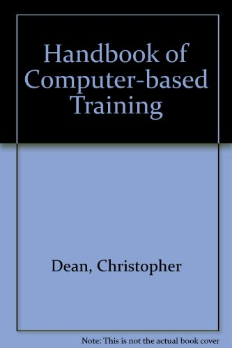 Handbook of Computer-based Training por Christopher Dean