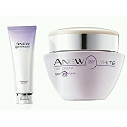 Avon anew white day cream. 30g and fairness cleanser 125g