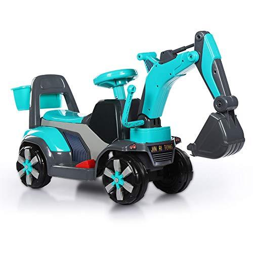 Xiaomei Spielzeugbagger voll ausgestatteter Kunststoff kann auf Kinder sitzen und hin und her bewegen (Farbe : D)