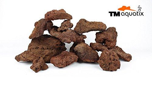 TM Aquatix 10KG LAVA ROCK NATURAL AQUARIUM DECORATION TROPICAL, AQUASCAPING MALAWI, IWAGUMI 1