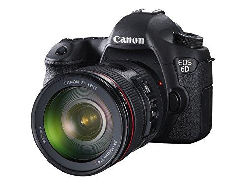 dslr wlan Canon EOS 6D + EF 24-105 is STM Spiegelreflexkamera schwarz