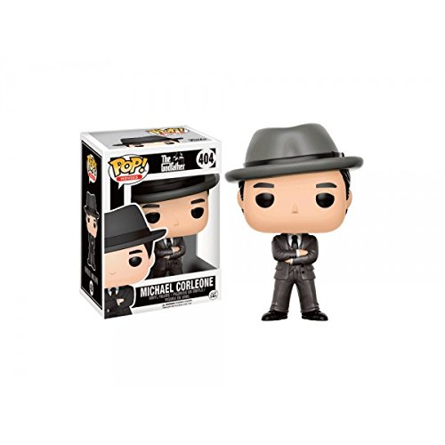 Funko - Figurine Godfather / Le Parrain - Michael Corleone With Hat exclu Pop 10cm - 0889698135283