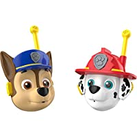 PAW PATROL S17995 KD Toys 3D Character Walkie Talkies, Blue. Red