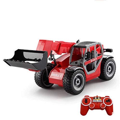 AIOJY 1:20 große ferngesteuerte Gabelstapler Bulldozer Loader Junge elektrische drahtlose Simulation Engineering Modell kinderspielzeug Hobby Engineering Fahrzeug