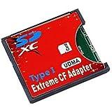 azazaz @ Sd SDHC SDXC-Hochgeschwindigkeits extreme Compact Flash Typ I für 16/32/64/128 gb Adapter