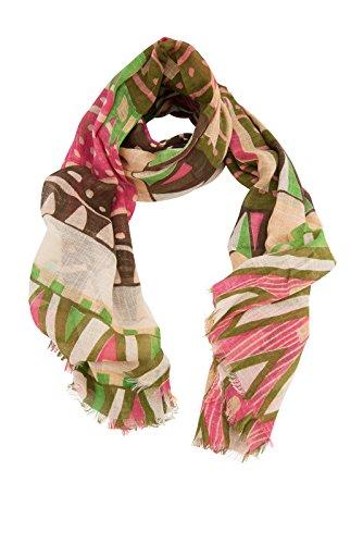 Modische Longschals und Ponchos diverse Muster und Farben