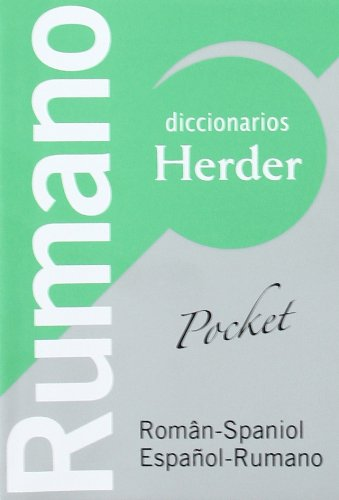Diccionario POCKET Rumano. Român-Spaniol / Español-Rumano (Diccionarios Herder) por Joan Fontana