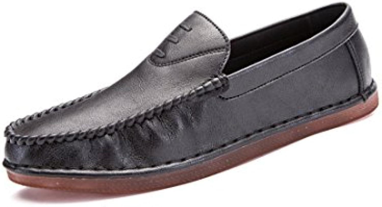 Frühling und Herbst Männer Casual Schuhe weisshen Boden Atmungsaktiv Handgemachte Casual Set Füße Fahren