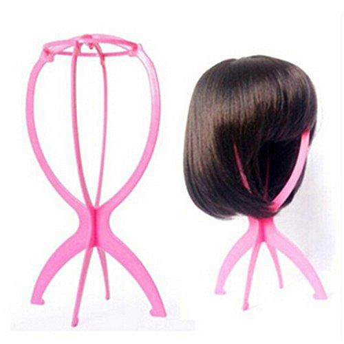 Parrucca Stand, portatile parrucca capelli supporto Horder, Parrucca Display Stand strumento - Parrucca Portatile Del Supporto