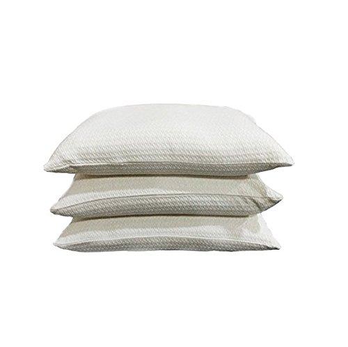 Kanyoga Baumwolle Neutral Buckwheat Hull Kissen(46 x 30 CM),1 Stück 20 X 26 Kissen Legen