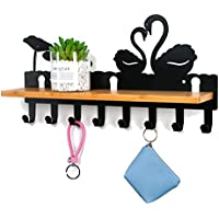 8.7 ZHM Storage Rack Storage shelf Bathroom Storage Shelf Bamboo Bathtub Multifunctional Storage Rack Mobile Phone Holder natural wood color 27.6 1.6in