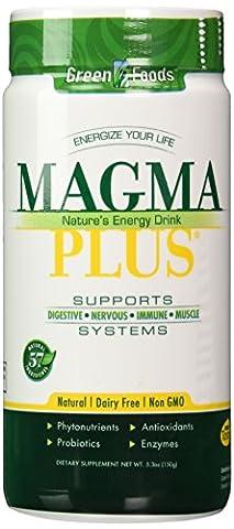 Green Foods Corporation, Magma Plus - 5.3oz (150g)
