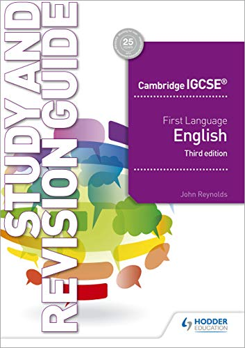 Cambridge IGCSE First Language English Study and Revision Guide 3rd edition