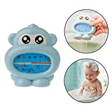 Best Bath Thermometers - Safe-O-Kid Teddy Shaped-Sensitive Bath-Tub Thermometer, Blue Review