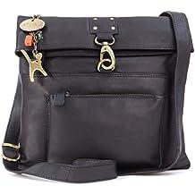 ffd1fd6fde344 Catwalk Collection Handbags – Damen Leder Umhängetasche   Handtasche    Messenger - DISPATCH