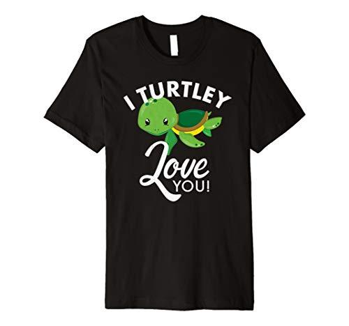 Cute Valentines Schildkröte I TURTLEY Love You Valentine - Cute Mutter Und Tochter Kostüm